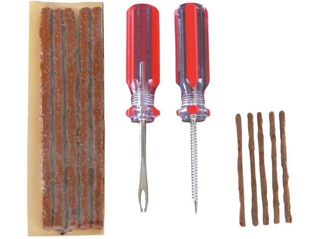 MaXalami Maxi Tubeless Reparatieset, brown